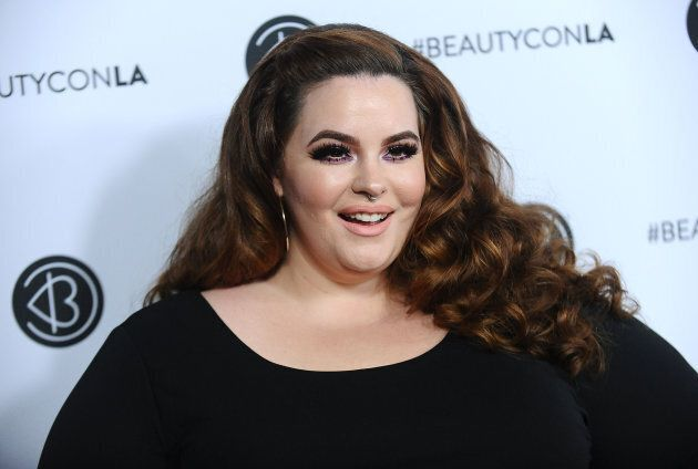 Tess Holliday attends the 5th annual Beautycon festival on August 13, 2017 in Los Angeles, California....