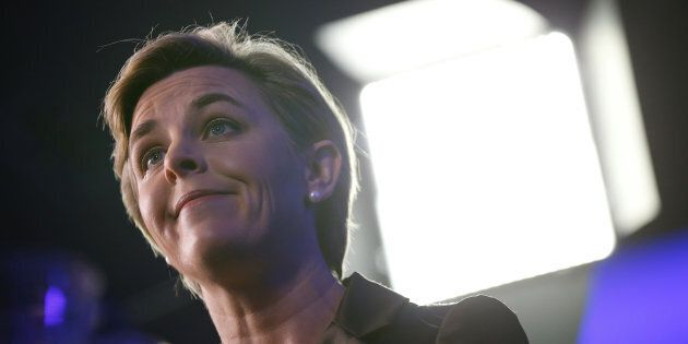 Kellie Leitch is shown at the Conservative Party of Canada leadership convention in Toronto on May 26,