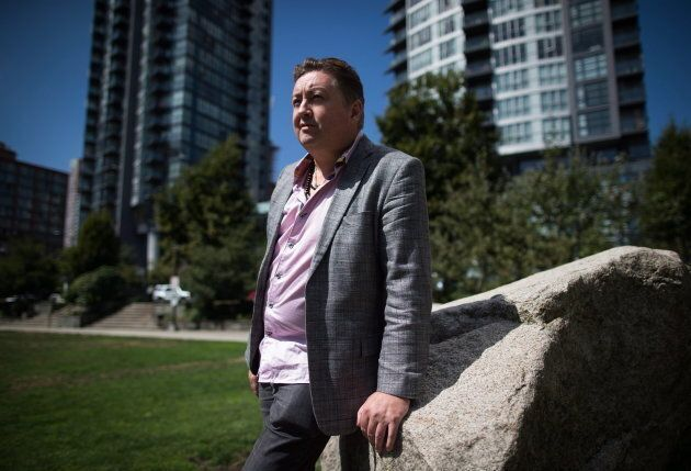 Former neo-Nazi Tony McAleer poses for a photograph in Vancouver on Aug. 17, 2017.