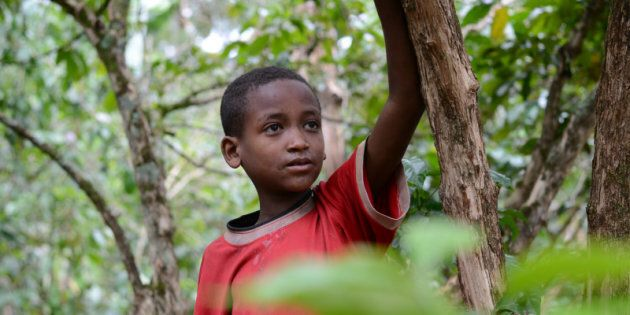 Joseph is a child from Ethiopia who won't be going back to school this fall.