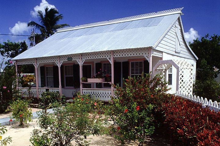 A traditional Cayman home