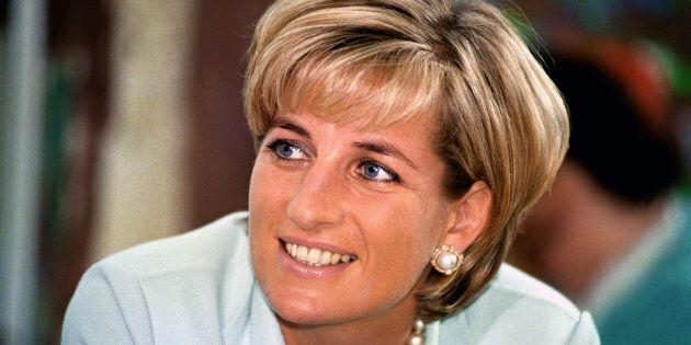 File photo of Diana, Princess of Wales on during a visit to
