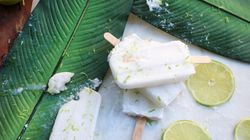 Coconut Margarita Popsicles To Keep You In Denial That Summer's