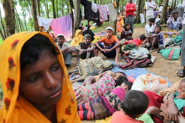 Rohingya Muslim refugees have fled to Bangladesh to avoid military attacks in