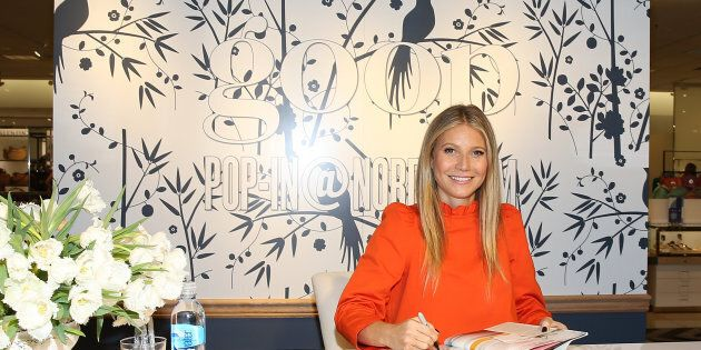 Gwyneth Paltrow attends book signing at goop-in@Nordstrom at The Grove on June 8, 2017 in Los Angeles,