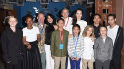 Angelina Jolie Brings All 6 Kids To 'First They Killed My Father'