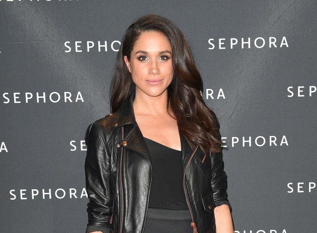 Meghan Markle attends a Sephora event at Toronto's Eaton Centre on May 19, 2016. (Photo by George