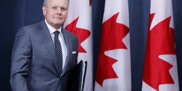 Bank of Canada Governor Stephen Poloz arrives at a news conference in Ottawa, Ontario, Canada, July 12,