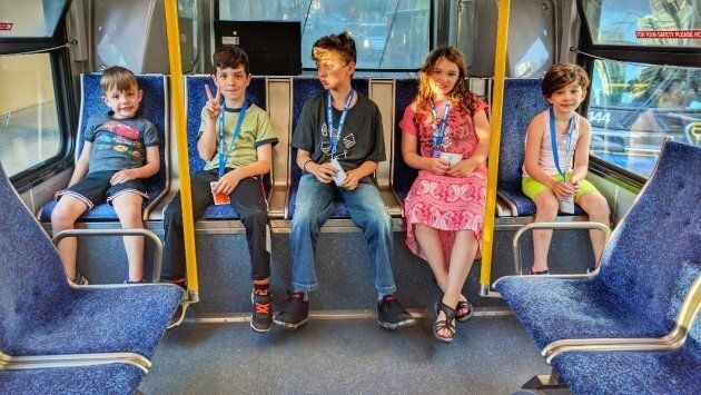 B.C. Father Challenges Ruling That School-Age Kids Can't Ride Transit