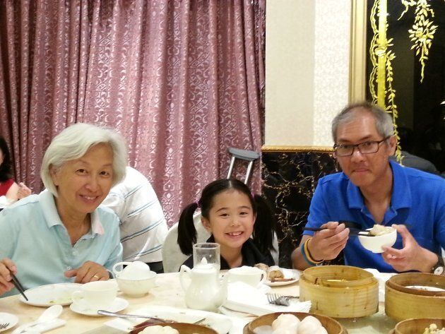 Dim sum is a time for family to come