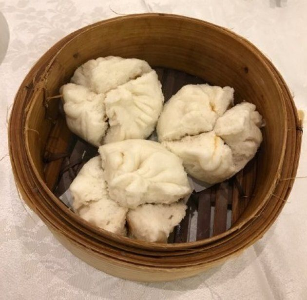 Char siu bao (Steamed bbq pork