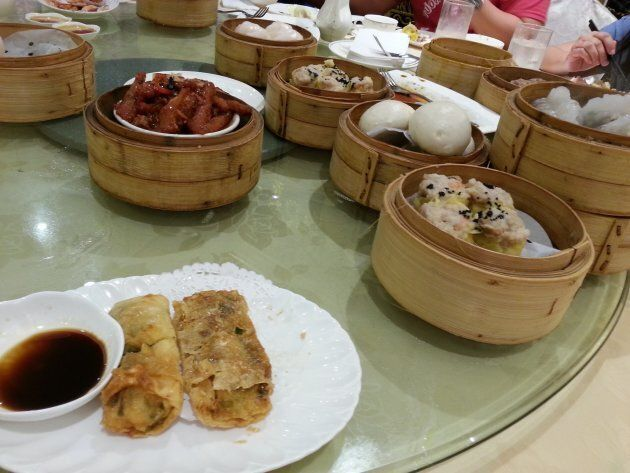 Dim sum won't disappoint in terms of variety — there are dozens of dishes.