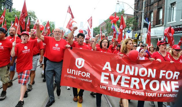 The annual Labour Day Parade was held in Toronto, Sept. 2,