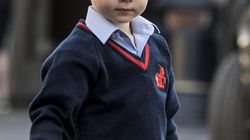 Prince George Handles His 1st Day Of School Like A