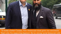 Jagmeet Singh Lands Endorsement From Ex-NDP Leadership