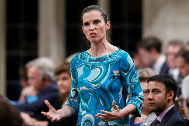 Science Minister Kirsty Duncan speaks during Question Period in the House of Commons on Parliament Hill in Ottawa, May 31, 2016.