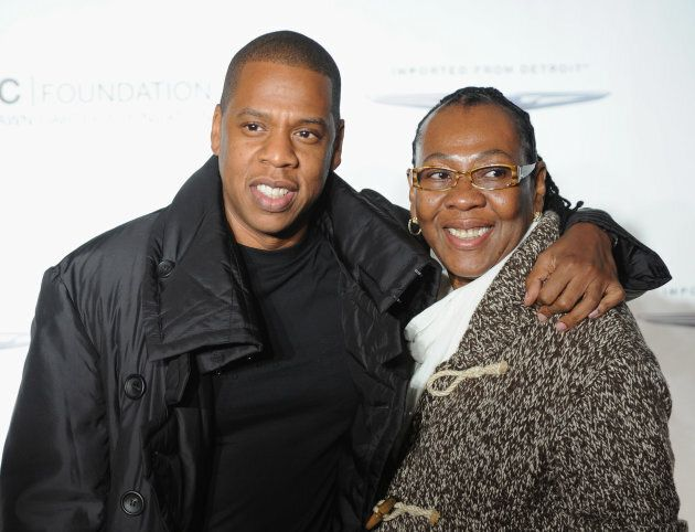 Jay-Z and his mother, Gloria Carter, at 'Making The Ordinary Extraordinary' event hosted by The Shawn...