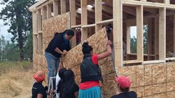 Indigenous Activists Are Building Tiny Homes To Protest B.C.