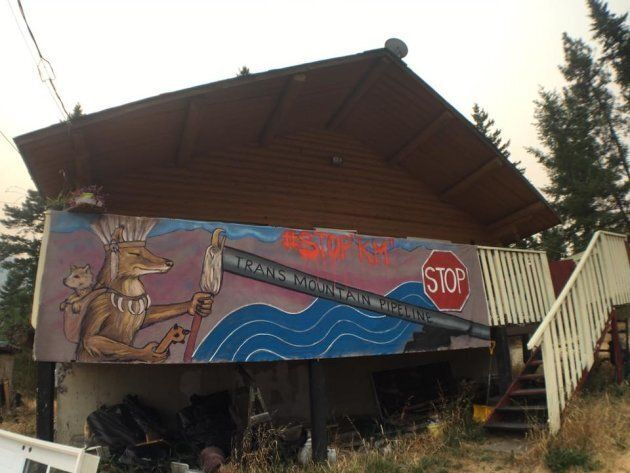 Secwepemc Nation is opposed to the Kinder Morgan pipeline expansion coming through their