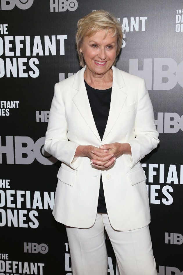 Tina Brown in New York City on June 27, 2017. (Photo by Sylvain Gaboury/Patrick McMullan via Getty