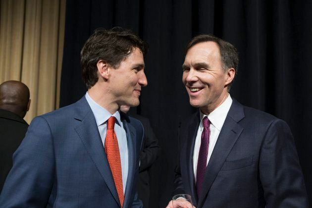 Prime Minister Justin Trudeau and Finance Minister Bill