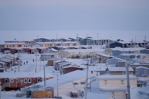 Igloolik, Nunavut is shown on Nov. 23, 2013. Stephen Lewis recently travelled to Igloolik to learn about...