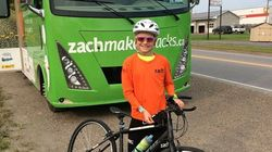 This 13-Year-Old Just Rode 9.5 Marathons To Raise Money For Mental