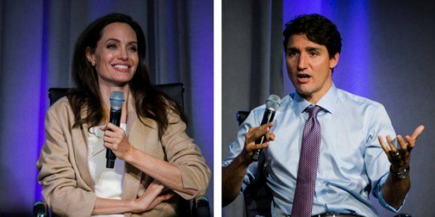 Justin Trudeau, Angelina Jolie Get Personal About Their Families At Women In The World