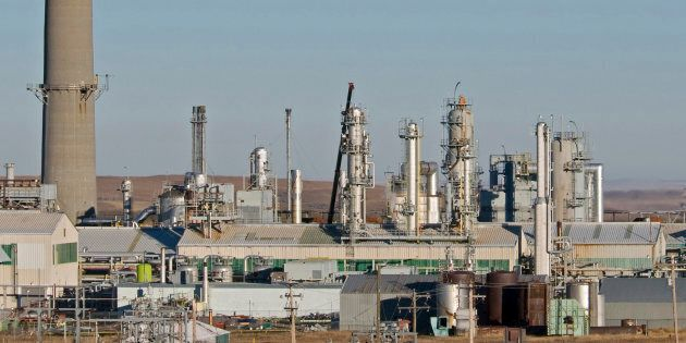 Shell's sour natural gas processing plant produces methane, propane, butane, ethane, condensate and sulphur,...