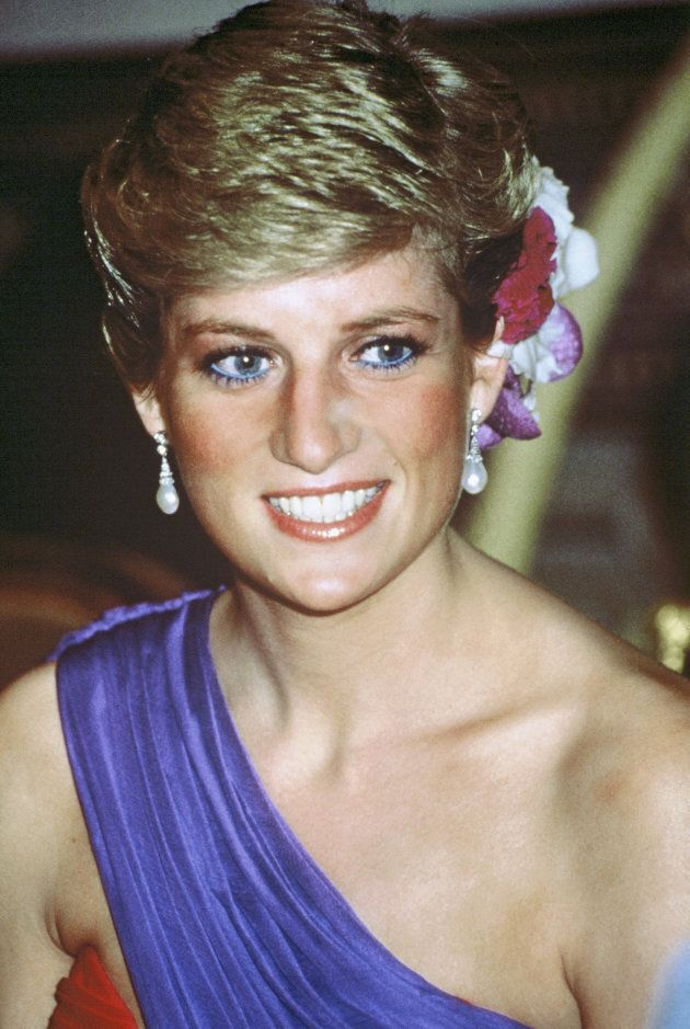 Princess Diana, Princess of Wales in Thailand. (Anwar