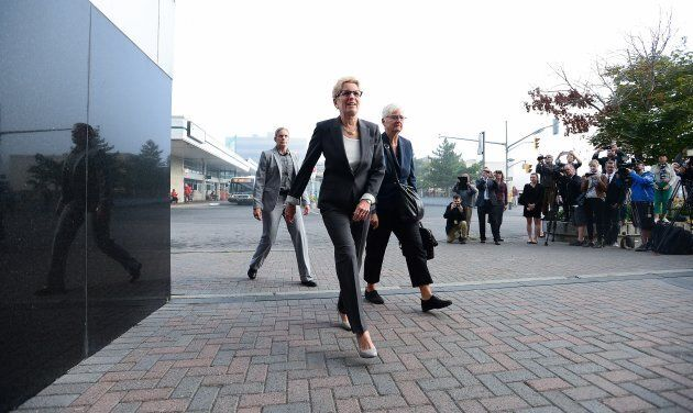 Ontario Premier Kathleen Wynne is not facing any charges in the Liberal bribery