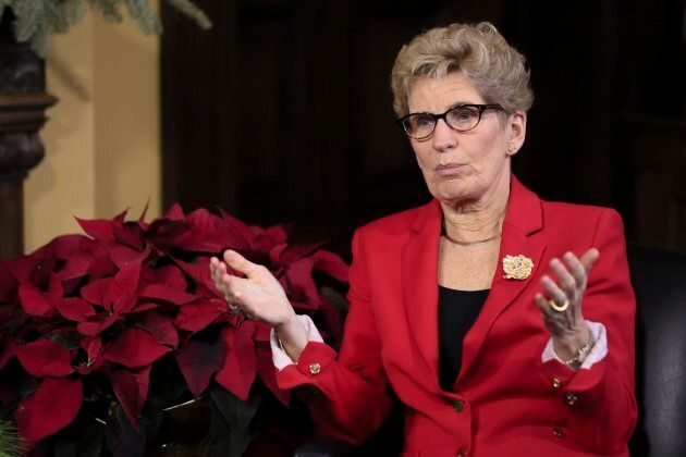 Ontario Premier Kathleen Wynne, who recently announced marijuana would be sold through up to 150 provincially run stores.