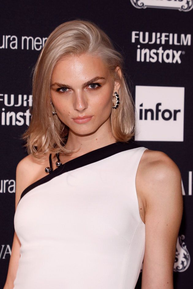 Andreja Pejic attends the 2017 Harper Bazaar ICONS party on Sept. 8, 2017 in New York City. (Taylor