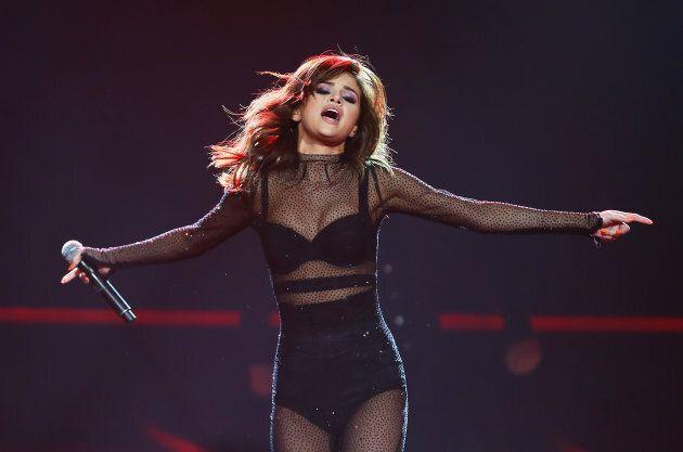 Selena Gomez performs on stage at Qudos Bank Arena on Aug. 9, 2016 in Sydney, Australia. (Don
