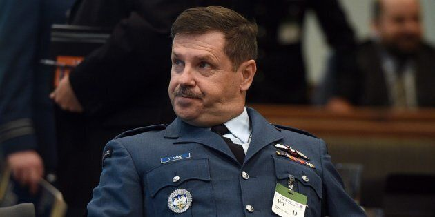 Lt. Gen. Pierre St-Amand appears as a witness at a commons national defence committee in Ottawa on Sept....