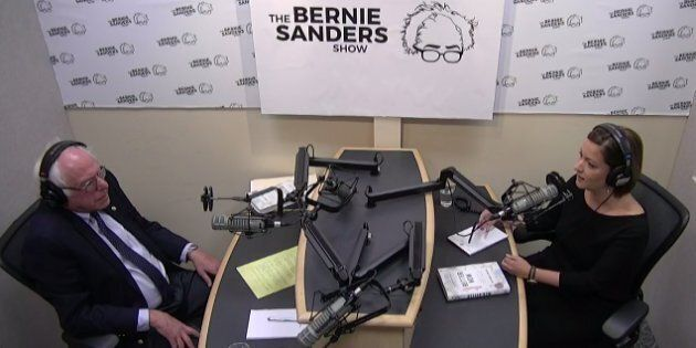 Canadian doctor Danielle Martin spoke with U.S. Sen. Bernie Sanders on his radio show