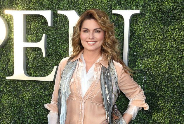 Shania Twain attends the opening night of the US Open at Billie Jean King National Tennis Center in New