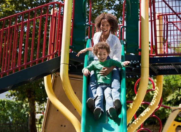 Attention Parents: You Need To Stop Going On Slides With Your