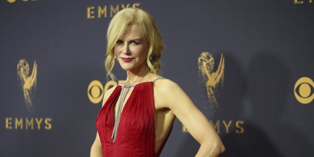 Nicole Kidman at the 69th Primetime Emmy Awards in Los Angeles, California, Sept. 17, 2017. (REUTERS/Mike
