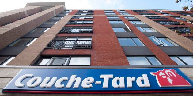 Signage of a Couche-Tard convenience store is shown in Montreal in an October 5, 2012, file