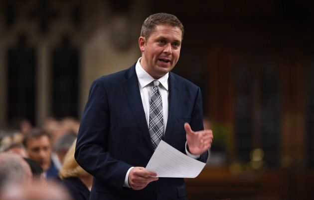 Conservative Leader Andrew Scheer resisted demands from the Liberals that he condemn longtime Tory MP...