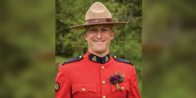 Const. Frank Deschenes was killed last week after he stopped to help motorists change a flat