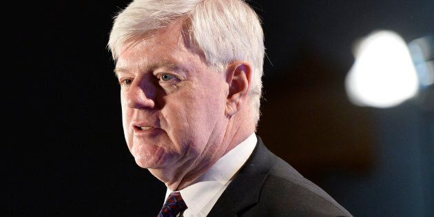 John Manley, the president and chief executive of the Canadian Council of Chief Executives, delivers...