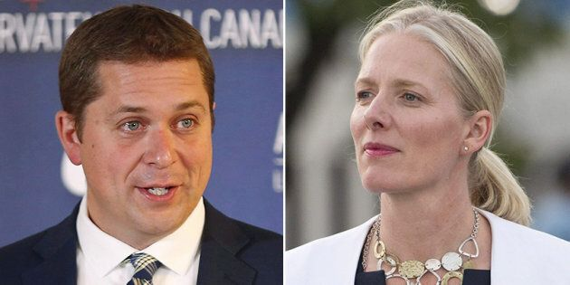 Conservative Leader Andrew Scheer apologized to Environment Minister Catherine McKenna after a Tory MP...