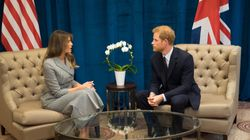 Melania Trump, Prince Harry Meet In Toronto Ahead Of Invictus
