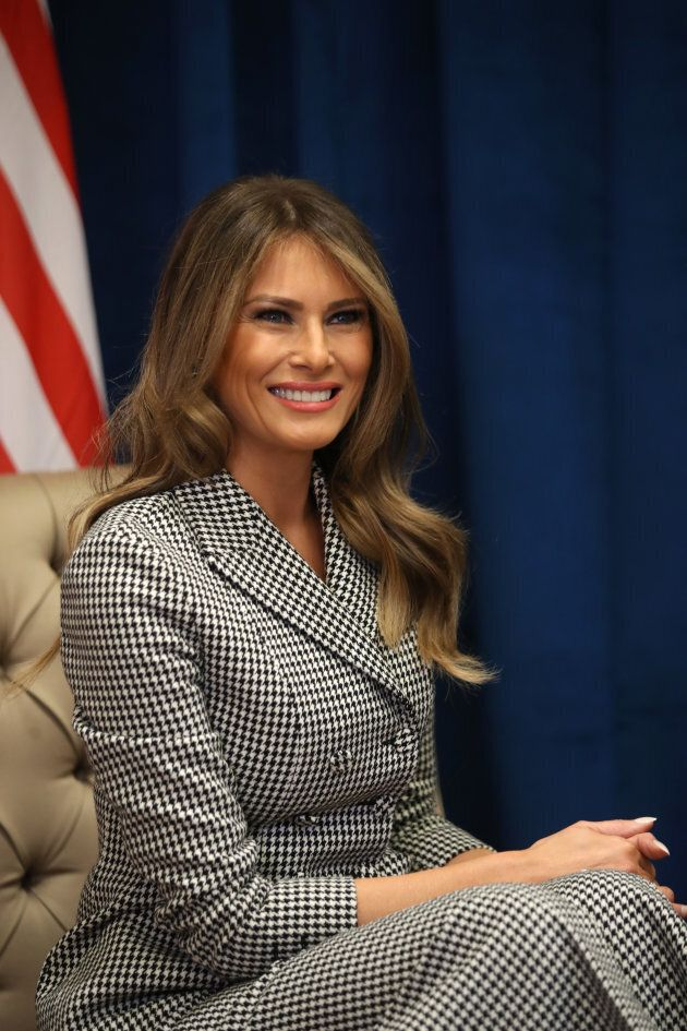 Melania Trump. (Photo: Chris Jackson/Getty Images for the Invictus Games Foundation