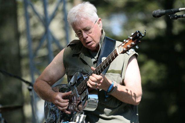 Bruce Cockburn performs at Golden Gate Park in San Francisco, Calif. in