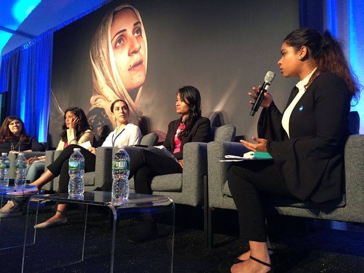 Young women discuss the realities of gender inequality and the issues that impact them.