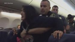 Video Shows Police Dragging Woman Off Southwest