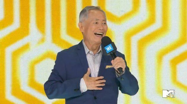 Actor George Takei talks about his time in a Japanese internment camp during World War II.